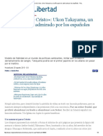 El «Samurai de Cristo»_ Ukon Takayama, Un Señor Guerrero Admirado Por Los Españoles - ReL