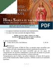 EL SACERDOCIO. Fiesta de Cristo Sacerdote (42) HORA SANTA Con San Pedro Julián Eymard