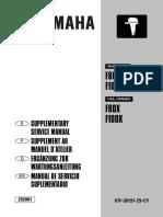 Yamaha F80 F100 4-Stroke Outboard Motor Service Repair Manual