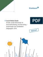 Abstract Social Media Recruiting Studie_Kienbaum Communications