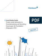 Abstract Social Media Recruiting Studie_Kienbaum Communications