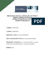 TONKONOFF. Psicologia Social. Lenguaje, Cultura y Deseo. Programa