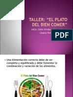 Taller El Plato del bien comer.ppt