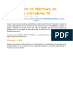 Versiones de Windows