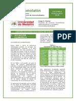 Informe Economia Colombia Marzo 2018