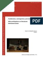 Zabalgoitia Herrera, Mauricio (ed.) - Mito prehispánico en literaturas latinoamericanas.pdf