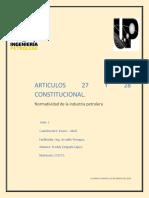 Sintesis Art 27 y 28
