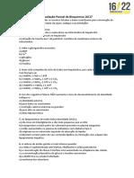 Avaliações Parciais 2017 (CC 16-22) (1)