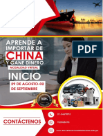 Aprende Importar de China Virtual