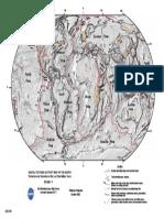 peta penyebaran lempeng tektonik dunia