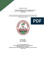 Halaman Persetujuan Proposal
