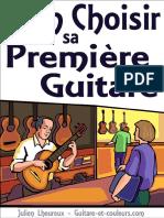 Bien Choisir Sa Premiere Guitare