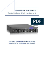 Server Virtualization With QNAP Turbo NAS and Citrix XenServer