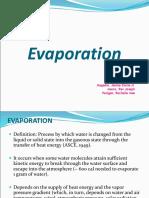 Evaporation 2