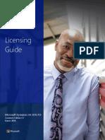 Microsoft Dynamics AX 2012 R3 Licensing Guide Customer Edition