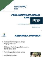 Perlindungan Sosial LANSIA CAS