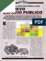 El Nuevo Espacio Público Pag. 13 a 27