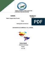 Tarea 3 Geografia de America y El Caribe