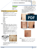 Derma History and Pe