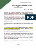 Contrato Licencia Empresa Empresa Esp