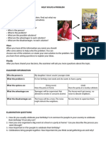 Speaking Prompt 5 6 7 8 Evaluator