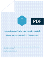 Leonardo Arce - Compositoras en Chile, Una Historia Recortada