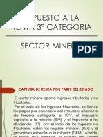 IMPUESTO A LA RENTA Sector Minero