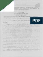 Ley 1058 Declara Patrimonio Cultural Al Ritual JULA JULA
