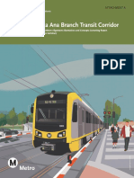 West Santa Ana Branch Northern Alignments Study
