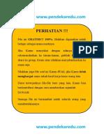 Soal UMPN Rekayasa PENS 2014