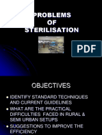 Problems of Sterilization