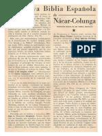 Biblia Nacar - Colunga según Monseñor Straubinger