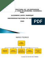 Control Estructural de Los Intrusivos Miocénicos en La Zona de Urubamba. Cajamarca- Perú