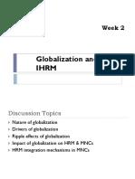 Globalization & HRM