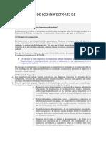FACULTADES, OBLIGACIONACIONES Y PROHIBICIONES DE LOS INSPECTORES DE TRABAJO.docx