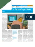 Buscando la fórmula perfecta