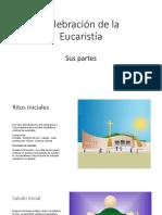 Celebración de La eucaristia