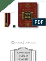 Cronologia Historia Judaica