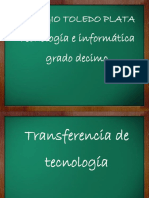 Transferencia de Tecnologia Decimo Grado.