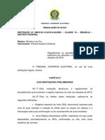 Resolução TSE n.º 23.521_2018 -Procedimentos Módulo Impressor