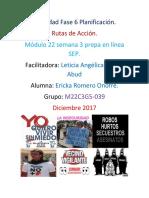 Romero Onofre Ericka M22S3A6 P Plan de Trabajo