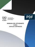 Manual Del Estudiante - Espacios Confinados