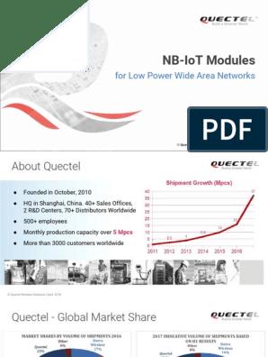 Quectel NB-IoT Modules | 4 G | Internet Protocols
