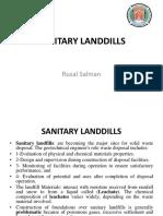 Sanitary landfill soil