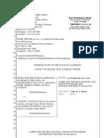 Aclu informants lawsuit