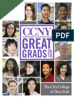 CCNY Great Grads 2018