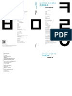 2011 Datos Sobre Corea