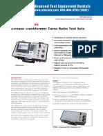 1.4 Medidor de Relacion de Transformacion TTR