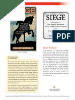Siege by Roxane Orgille Teachers' Guide