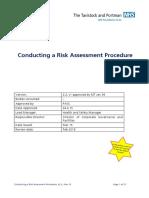 Procedure Conducting Risk Assessment